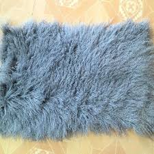 real fur rug plate sheepskin carpet rugs and carpets for living room mongolian pink