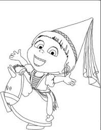 Small Picture Despicable Me Margo Edith And Agnes Coloring Pages Kid Stuff