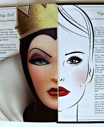 dramatic face makeup elf evil queen face make up set disney villain book devious