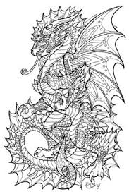 117 Best Dragon Coloring Page Images In 2019 Coloring Book