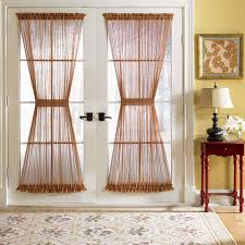 DIY French Door Panel Curtains