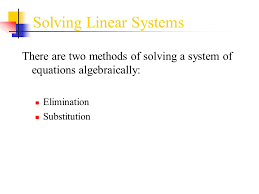 of equations worksheets elimination substitution word problems