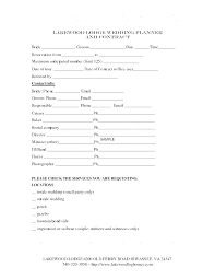 Free Wedding Planner Contract Templates Management Services Agreement Template Administrative 9 Free