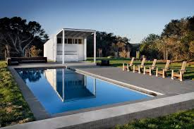 pool outdoor kitchen pool farmhouse with shed roof contemporary outdoor cooking