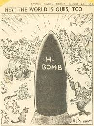 Image result for 1953 Truman announces U.S. has developed hydrogen bomb