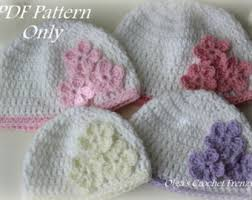 Baby Beanie Crochet Pattern 6 12 Months Extraordinary 48 48 48 48 Month Etsy