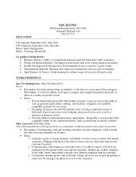 Resume For Sports Management Testimonials