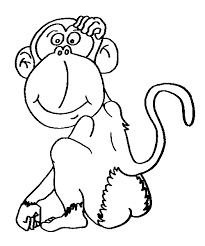 Small Picture Chimpanzee coloring page Animals Town Animal color sheets