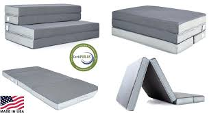 folding foam mattress. Portable Guest Bed Folding Foam Mattress 4 Home Travel
