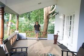 The Serai Kabini: balcony outside the room