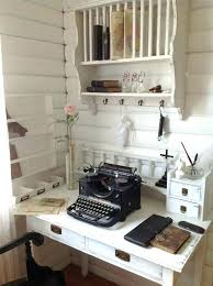 chic office space. Chic Office Decor Space Secretary Whitewashed Chippy Shabby French Country Rustic Idea A