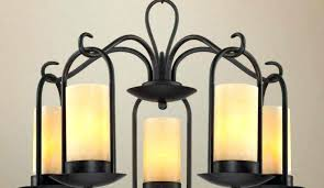 lovely flameless candle chandelier medium size of candle chandelier