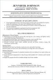 Qualifications For Job Resume Best of No Job Experience Resume Eukutak