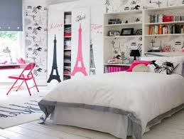 Paris Inspired Bedroom Cool Teen Room Ideas For Girls With Paris Theme Home Interior
