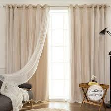 Koreanischen Stil Solide Moderne Vorhang Tüll Fenster Set Von Mint