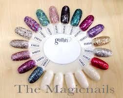 The Magicnails Harmony Gelish Colour Chart 2