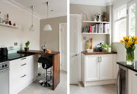 white and cream shaker style kitchen makeover