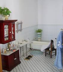 Edwardian Bathroom Tiles Dolls Houses And Minis Edwardian Dolls House Decoration Part Two