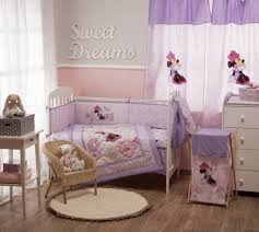beautiful minnie mouse crib bedding nursery set sheet for baby