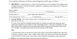 Free Virginia Standard Residential Lease Agreement Template Pdf ...