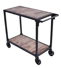Vintage Industrial Cart Coffee Table Cast Iron Wheels Casters Carts, Wholesale Commercial Furniture products on Tradees.com