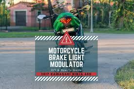 Back Off Brake Light Modulator Motorcycle Brake Light Modulator Diy Install Millennial Diyer