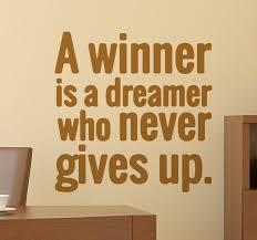 Winner Quotes Inspiration Nelson Mandela Winner Quote Sticker TenStickers