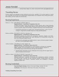 Sample Nursing Student Resume Sample Nursing Resume Best Of Sample Resume format for Nurses 40