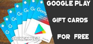 free google play gift card codes no survey 2018