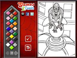 Small Picture Spiderman Coloring Pages For Kids Spiderman Coloring Pages YouTube