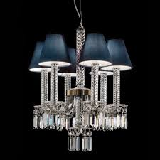 crystal chandelier prezioso with 6 lampshade