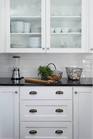 Black Granite Countertops With Tile Backsplash Mesmerizing Image Result For Black Granite Countertops With Subway Tile