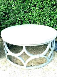 stone top coffee table round outdoor tables vida