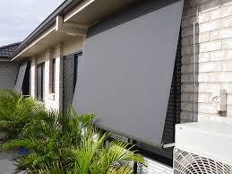 outdoor roller blinds