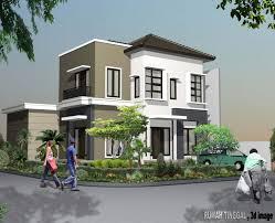 gambar rumah minimalis 2 lantai sederhana 1 konsep rumah modern