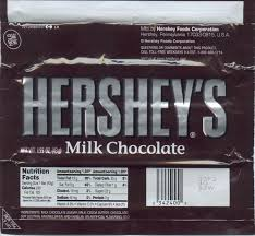 hershey candy bar wrapper mikes candy bar page hershey chocolate bar new sealed wrapper