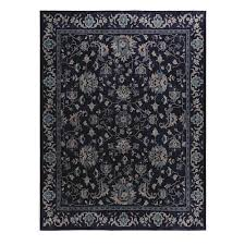 home decorators collection jackson indigo 2 ft x 7 ft rug runner