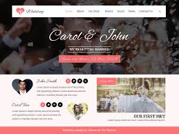 Wedding Wordpress Theme Vw Wedding Wordpress Org