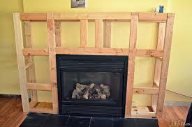 modest decoration fireplace surround plans new diy design decor luxury in