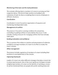 understanding teamwork sample essay 5
