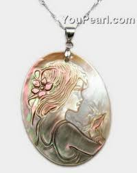 mother of pearl pendant. 30x40mm Cameo Mother Of Pearl Tahitian Shell Pendant Wholesale E