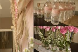 Decorating Water Bottles For Baby Shower fringe baby shower ideas burlap and pink baby shower decorations 37