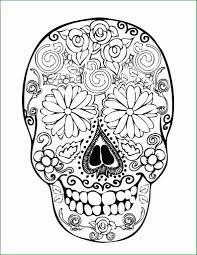 Free Printable Sugar Skull Coloring Pages Good 28 Skull Coloring