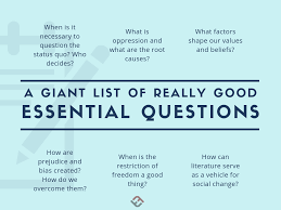 Good Judgement Examples Many Many Examples Of Essential Questions