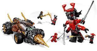70669: LEGO® Ninjago Cole's Earth Driller / Coles Powerbohrer – Klickbricks