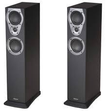 kef tower speakers. mission mx4 tower speakers kef