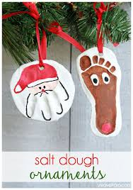Fingerprint Christmas Tree U0026 Salt Dough Ornament  Mommyu0027s BundleSalt Dough Christmas Gifts