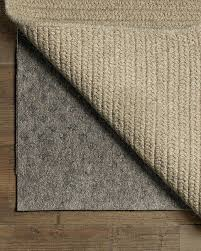 how to choose rug pad size designs
