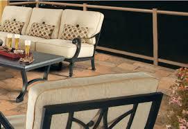 patio fireplace center patio furniture pride castelle patio furniture seating