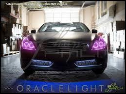 2008 Infiniti G37 Coupe Fog Lights Oracle 08 10 Infiniti G37 Coupe Led Colorshift Halo Rings Headlights Bulbs